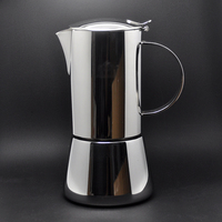 Authentic Italian stainless steel Mocha pot Italian espresso coffee maker home brewed coffee machine