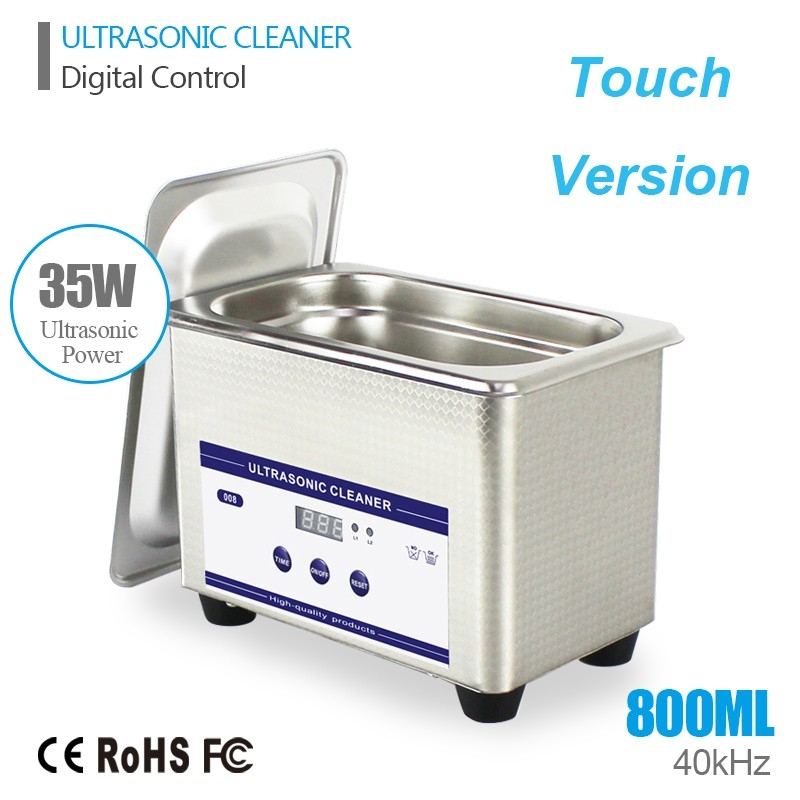 Smart Ultrasonic Cleaner Stainless Steel Ultrasound Wave Washing for Jewelry Glasses Ultrasound Bath Machine Cleaning with