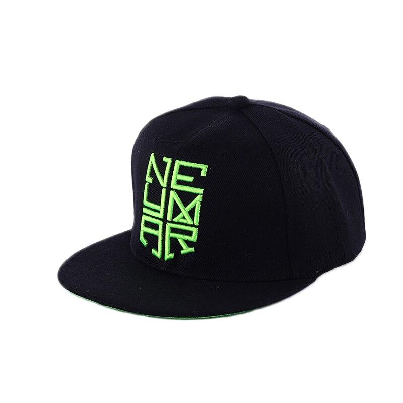 02bc301cd US $9.46  Neymar Baseball Cap Hip Hop Snapback Hat Men Embroidered Letter  Cap njr Adjustable Cotton Snap Back Flat Hats Gorra Bone YY17234-in  Baseball ...