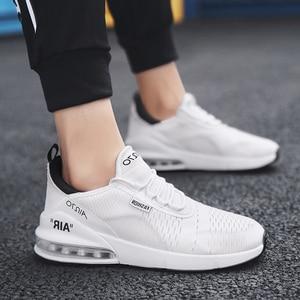 Image 4 - זוג מקרית ספורט נעלי 2018 סתיו והחורף חדש גברים של כרית אוויר ריצה נעלי גברים ונשים מזדמנים לבן נעלי סניקרס