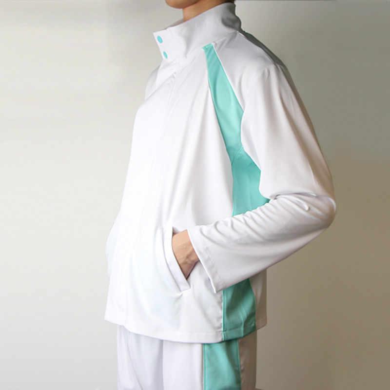 Liva Ragazza Haikyuu Aoba Johsai di Alta Scuola Uniforme Oikawa Tooru Cosplay Costume di Abbigliamento Sportivo (Giacca + Pantaloni)