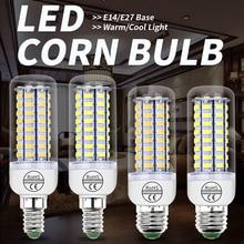 GU10 LED Bulb Corn Lamp 220V E27 Led Light Bulb 5W 7W 9W 12W 15W 18W E14 Led Candle Light 5730 SMD Chandelier For Home Lighting стоимость