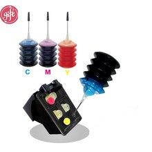Высокое качество 121 121XL замена чернил для hp 121 121XL цвет многоразового использования чернил DeskJet D2563 F2483 F4283 F4583 чернильный принтер E110