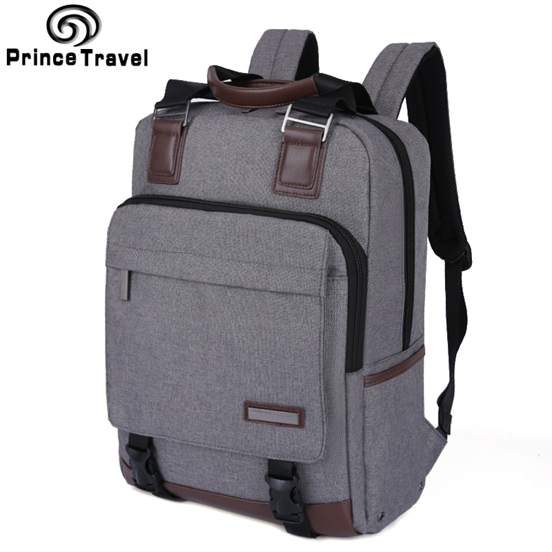 Prince Travel Brand School Bag For Teenagers Large Capacity Men'S Travel Bag Quality  15 16 Laptop Backpack Office Men Daypack мягкая игрушка gulliver змей модник 20 см