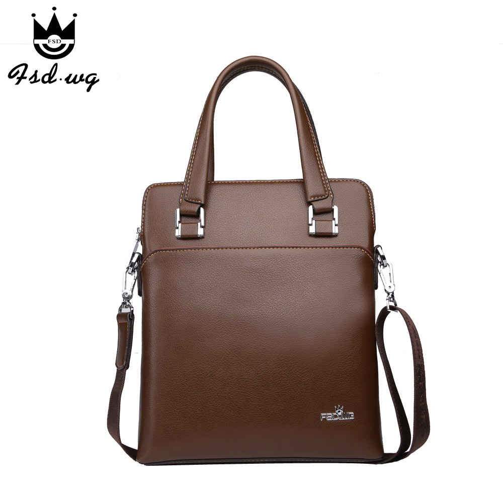 New mens business briefcase shoulder bags hit color mens crossbody bag bolsas famous brand design mens handbag bolsos