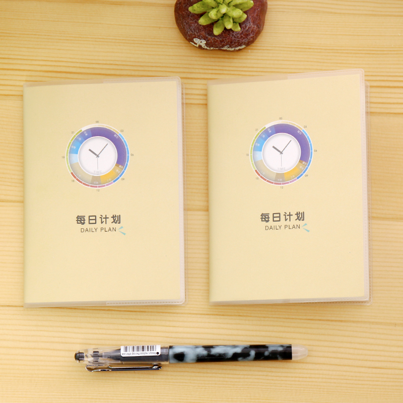 Office & School Supplies Notebooks Unparteiisch Koreanische Schreibwaren Täglichen Dinge Notizblock Gummi Fall Notizen Notebook Zu Tun Liste Von Arbeit Zeitpläne Verpackung Der Nominierten Marke