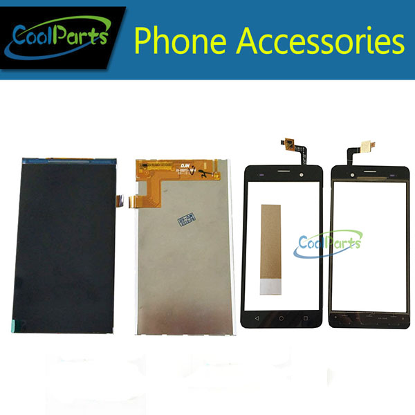 1PC/Lot For BQ BQ-5020 BQS 5020 Strike BQS-5020 LCD Display Screen+Touch Screen Digitizer Replacement Part Black Color With Tape