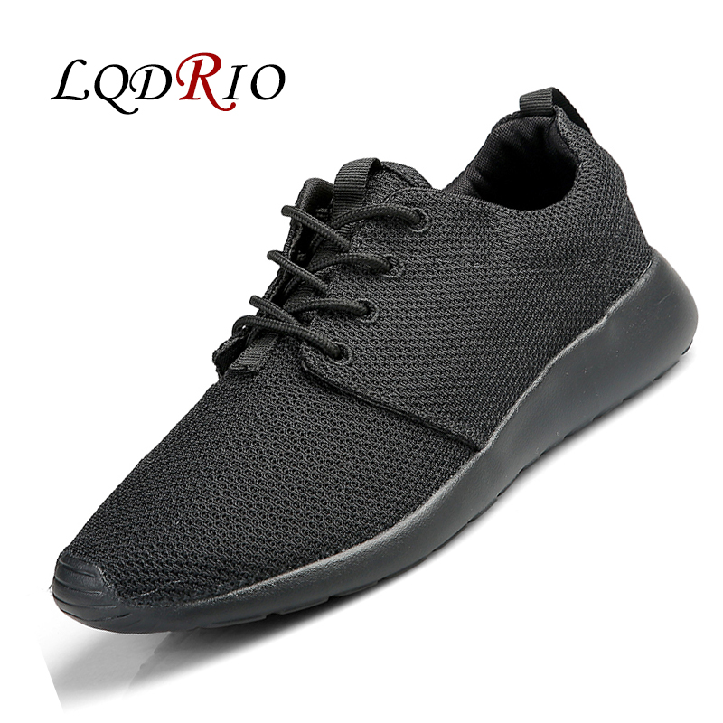 LQDRIO 2017 New Fashion Breathable Mesh Men Outdoor Casual Shoes Male Trainers Zapatillas Deportivas Spring Summer 2017 new summer breathable men casual shoes autumn fashion men trainers shoes men s lace up zapatillas deportivas 36 45