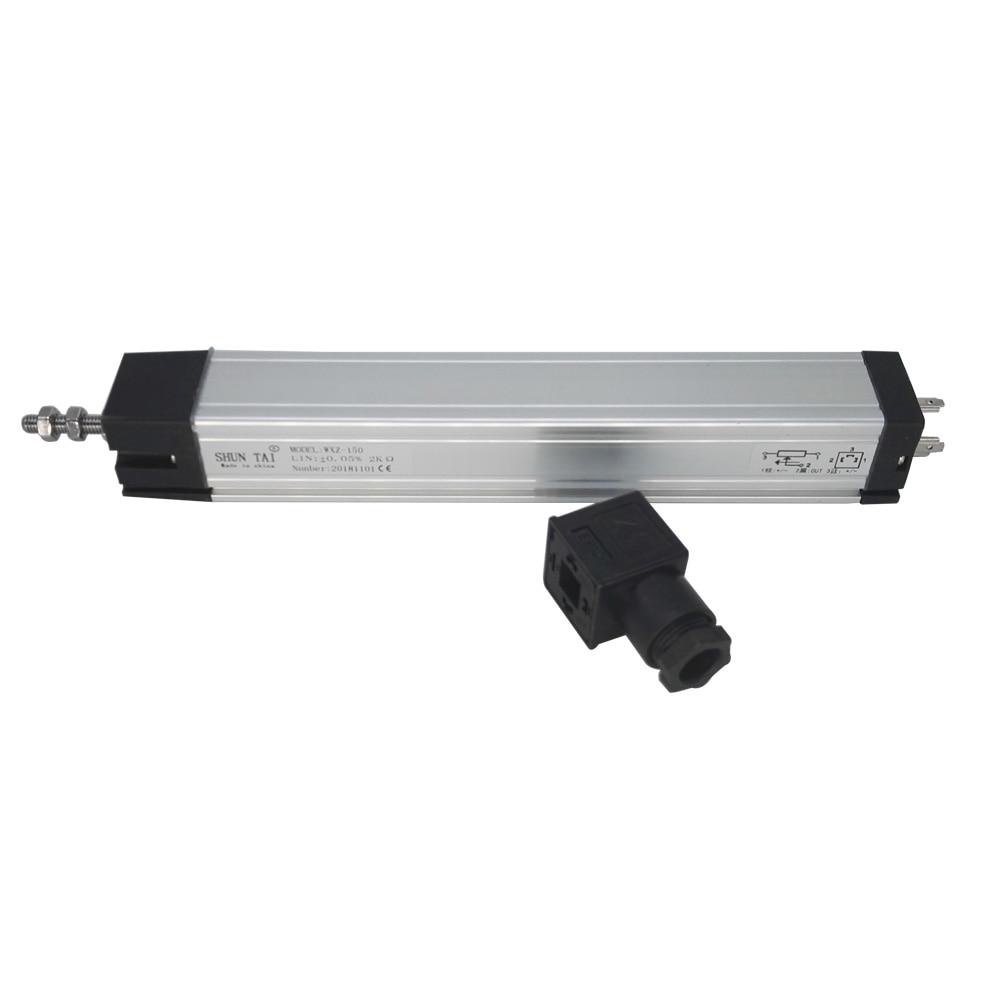 LVDT displacement position linear sensor 225 275 300 350 400 mm stroke range 5K Ohm resistance