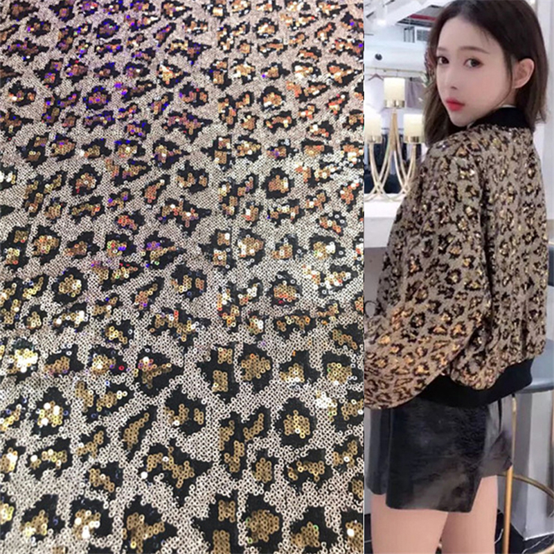 1 Yard New Sequin Leopard Pattern Lace Fabric Africa Tulle Mesh Lace Fabric For Dress Clothing Underwear Pajamas Pillow Craft1 Yard New Sequin Leopard Pattern Lace Fabric Africa Tulle Mesh Lace Fabric For Dress Clothing Underwear Pajamas Pillow Craft