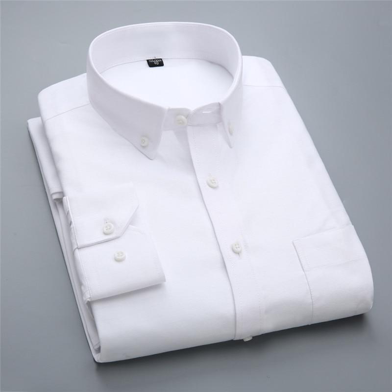 Новий бренд модні сорочки з довгим - Чоловічий одяг - фото 5