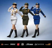 PH1/6 scale Doll Figure Female Honor Guard from China Army. seamless body Chinese women soldiers.12″ Action Figure Doll Model