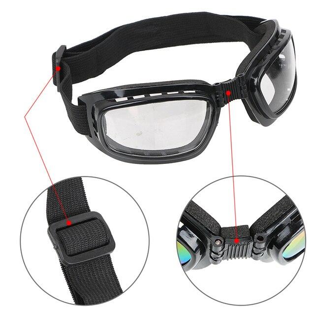 Leepee óculos de proteção uv para ciclismo, óculos de motociclismo à prova de vento e de poeira, óculos esportivos anti-reflexo 3