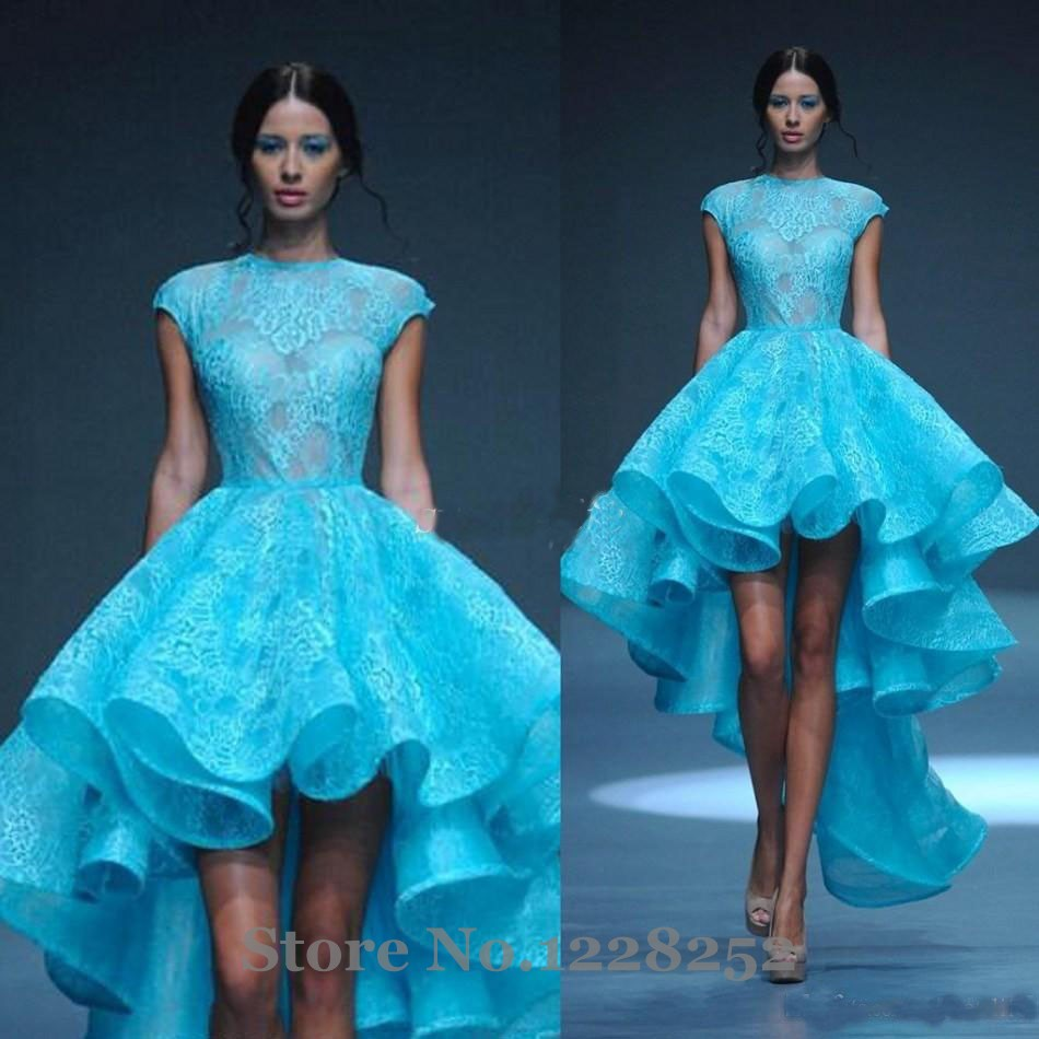 Contemporary High Low Ruffle Prom Dress Gallery - All Wedding ...