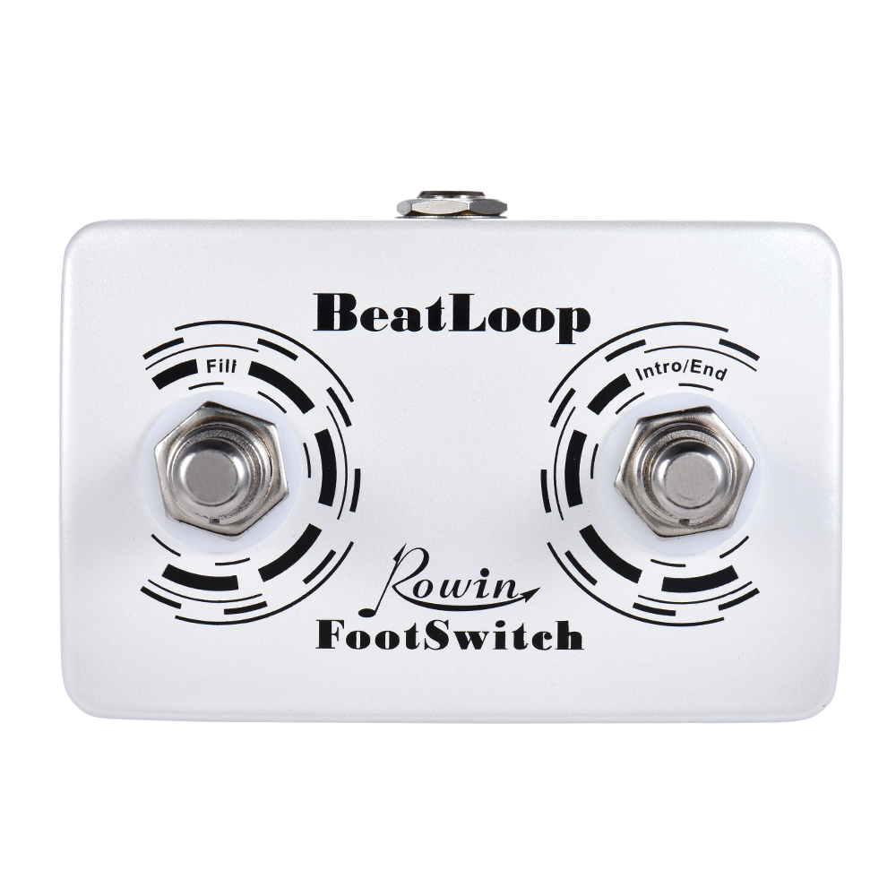 US $12 89  Rowin BEAT LOOP Recording Guitar Effect Pedal Max  50min  Recording Time Built in 40 Drum Sounds with LCD Display-in Guitar Parts &