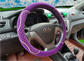 Universal Warm fur plush winter car steering wheel cover imitation wool auto supplies car interior accessories12 Colors