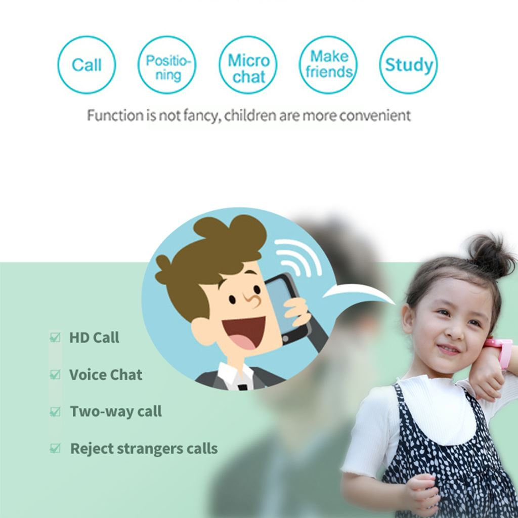 Image 4 - DS59 Children'S Smart Phone Watch Waterproof LBS Positioning Touch Screen Anti Lost Primary School Student Smart Watch-in Smart Watches from Consumer Electronics