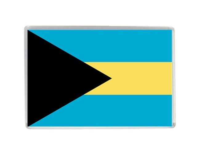 Bahamas flag quality acrylic fridge magnets exquisite world tourism souvenirs refrigerator magnetic stickers collection
