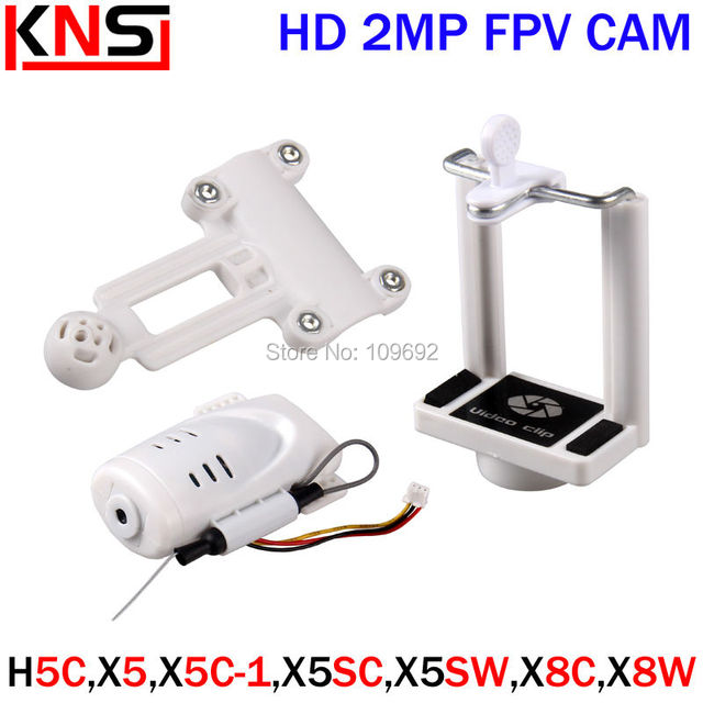 Upgrade HD 2MP WIFI FPV Camera For Syma X5 X5C X5SC X5SW Drone JJRC H5C RC Quadcopter Phone Clip Holder Accessories Spare Parts