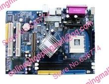 brand New motherboard socket478 chip 865gv-la integrated graphics card sound card network card
