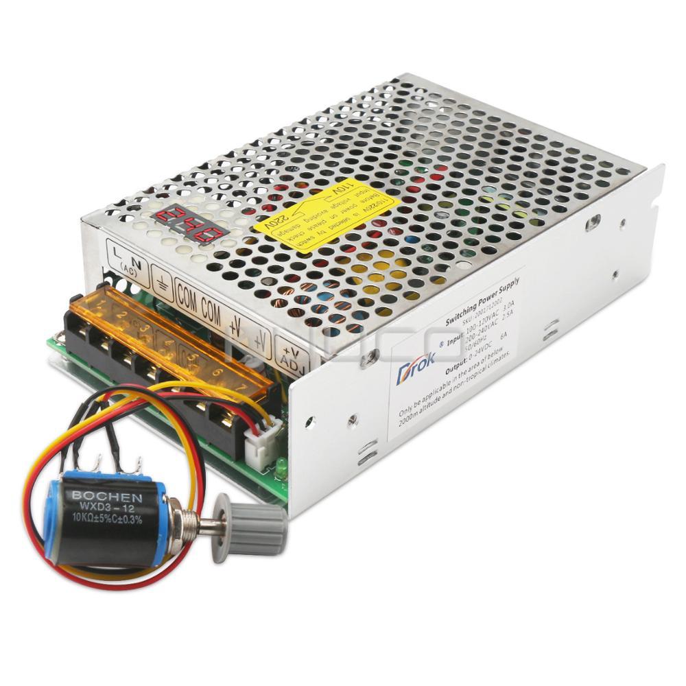 150W Switching Power Supply AC110/220V to DC 0~24V 6A Buck Convertter/Adjustable Regulator DC 5V 12V 24V Adapter/Driver