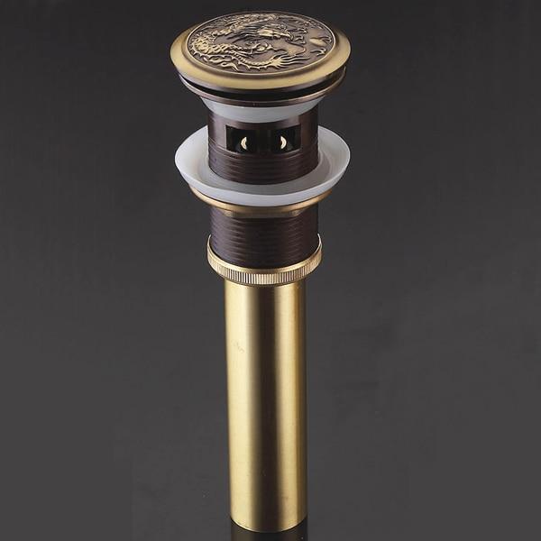 Золото и бронза Цвет люкс латуни всплывающих отходов Применение в умывальник l15595 - Цвет: Светло-зеленый