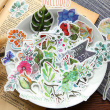 Autumn Leaves Washi Paper Sticker Memo Stickers Pack Kawaii Planner Scrapbooking Stickers Stationery Escolar School Supplies(China)