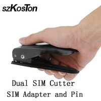 3 in 1 Unviersal Micro Sim Cut Tool Convenient for Nano Card Cutter DIY for iPhone 4 4S 5 5S 6 7 8 Plus for Xiaomi Smartphone
