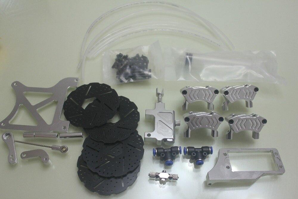 Baja 4 колесные гидравлические дисковые тормоза
