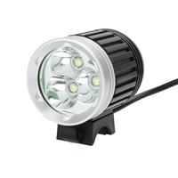 8000Lm 3X XM-L T6 LED Waterproof Headlamp Headlight Front Bicycle Lamp AC charger EU Plug Bike Lights Set led bike headlight