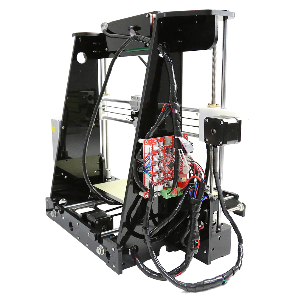 Cheap 3d printers 2018 factory price reprap prusa i3 Anet A8 3d printer diy kit aluminum nozzle extruder size 22 22 24CM in 3D Printers from Computer Office