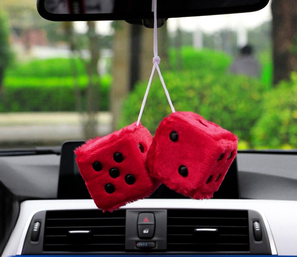 Автомобильная подвеска, красочные плюшевые кости, кости, JDM, автомобильные Подвески на зеркало заднего вида, подвесная подвеска, украшение для стола, украшение для дома