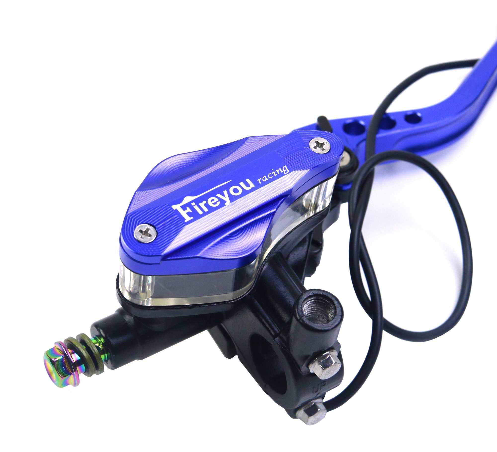 Ensemble d'embrayage de frein de moto ligne de câble levier de maître-cylindre hydraulique ajuster 22mm pour msx125 k1200r mt03 drz400 bulivard vespa