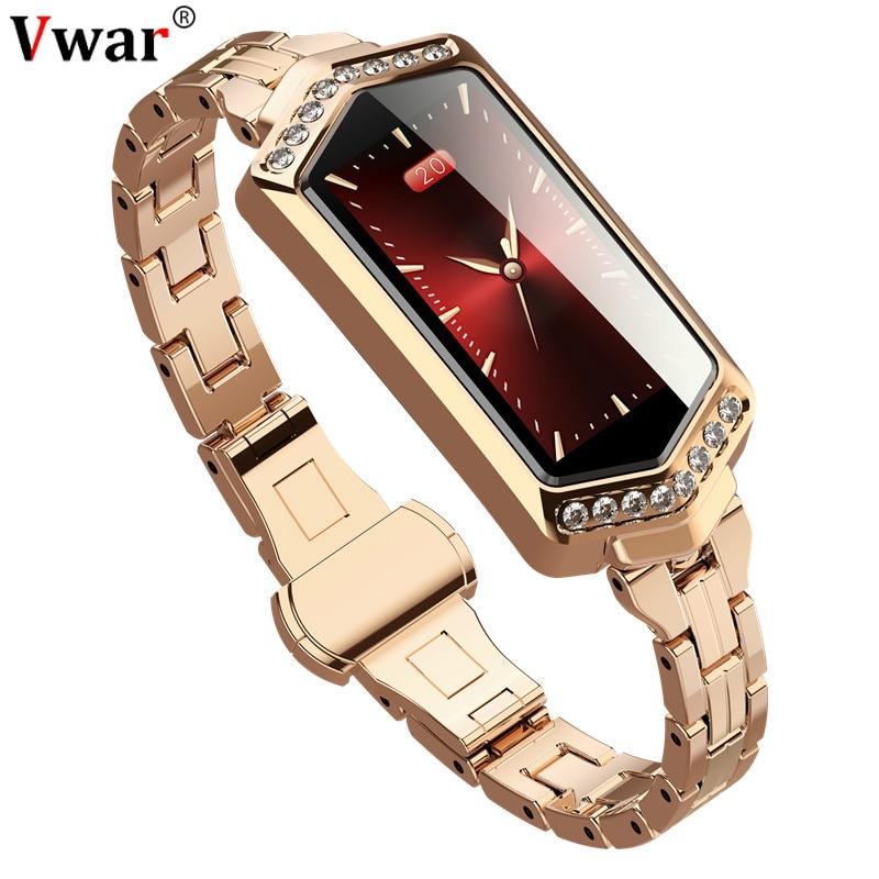 H12 Women Smart Watch Heart Rate Monitor Fitness Bracelet Blood Pressure Oxygen Ladies Smartwatch band best