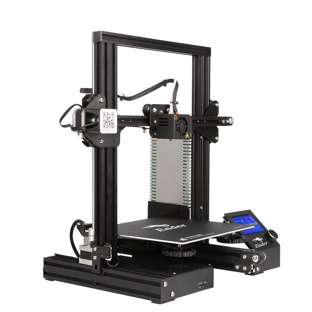 Date Ender-3 kit de bricolage 3D imprimante grande taille I3 mini Ender 3 imprimante 3D Poursuite D'alimentation D'impression Créalité Ender-3