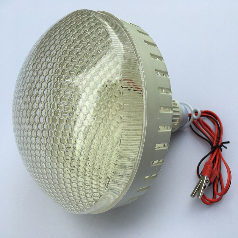 12V DC Led Tent Bulbs Portable Lamp Outdoor Camping Barbecue globe Hanging emergency lights Crocodile Hook Cool White 20/30/40w sanyi portable outdoor hanging tent camping lamp soft light led bulb waterproof lanterns night lights use 3 aaa battery
