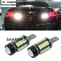 Para Infiniti QX50 QX60 QX70 JX35 M25L M37 G37 G25 EX25 FX50 T15 W16W Canbus Erro Free Car LED Luzes de Backup Reversa Cauda Lâmpada
