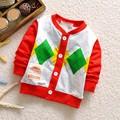 Nueva muchachos que hacen punto Girls chaquetas Cardigan niños del bebé infantil niños cubre la ropa Outwear las capas