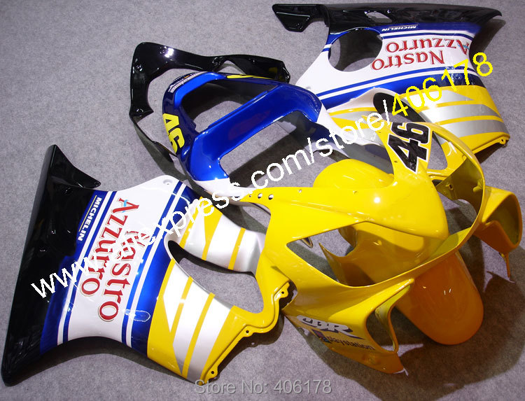 Hot Sales,For HONDA CBR600F4I 01-03 CBR 600 F4I CBR600 2001 2002 2003 Nastro Azzurro Racing Fairings kit (Injection molding) hot sales for honda vtr1000f 97 05 1997 1999 2000 2001 2002 2003 2004 2005 vtr1000 f vtr 1000 f 1000f full red fairings