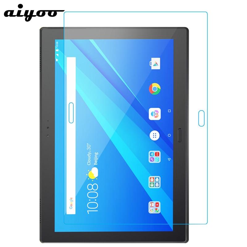 Aiyoo 9H Tempered Glass Screen Protector For Lenovo Tab 4 8 10 Plus M10 E10 P10 10.1 E8 8.0 E7 7.0 Tablet Protective Glass Film