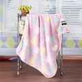 2017 Animais Tempo-limitado limitado Swaddle Cobertor Do Bebê Recém-nascido Cobertor Primavera Cobertor de Flanela Ar Condicionado Folha de Cama Macia 100*75 cm