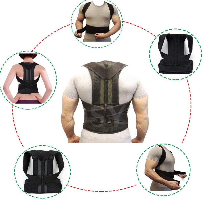 Posture Corrector for Men and Women Back Posture Brace Clavicle Support Stop Slouching and Hunching Adjustable Back Trainer 4