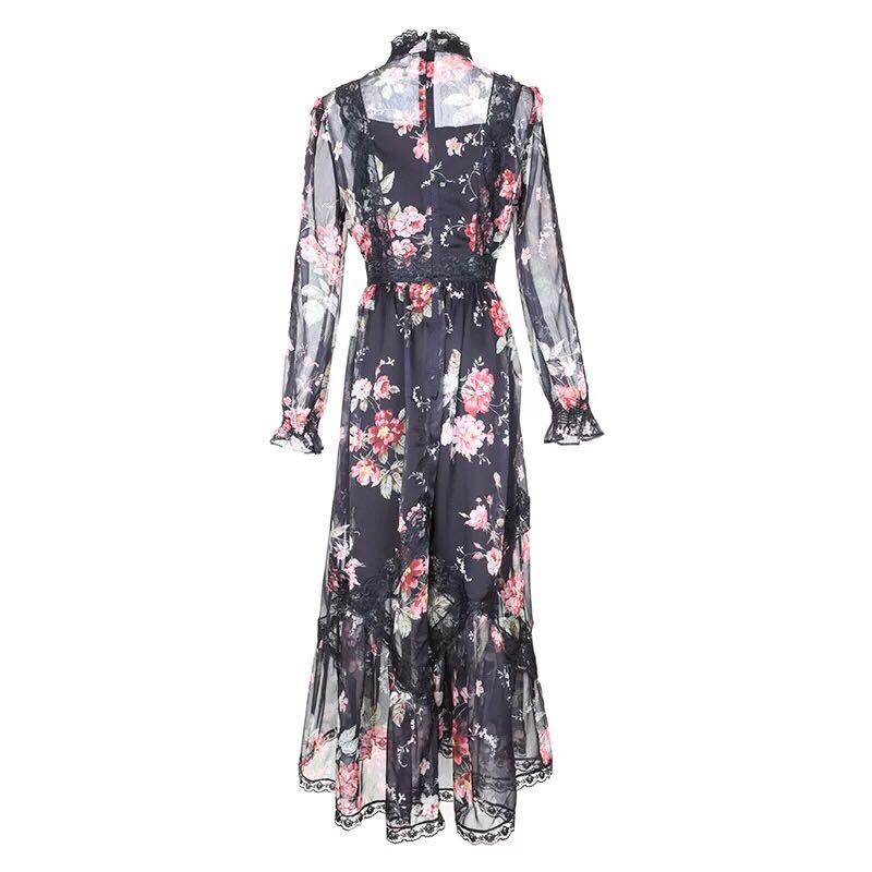 Qualité Robe Partie Mode Marque Européenne Luxe De Femmes Fa0274 Printemps 2019 Nouvelle Style Supérieure Design Célèbre T6dxtwtq0