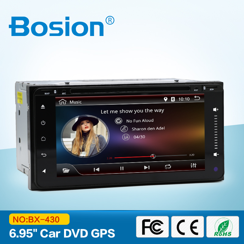 2 din Android 6.0 car dvd player gps for Toyota Corolla screen car stereo radio