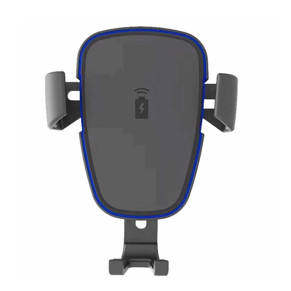 Вращающийся Автомобильный беспроводной мобильный телефон зарядное устройство