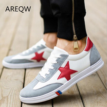 2017 Fall men's casual shoes men's breathable  shoes trend of young men's canvas shoes