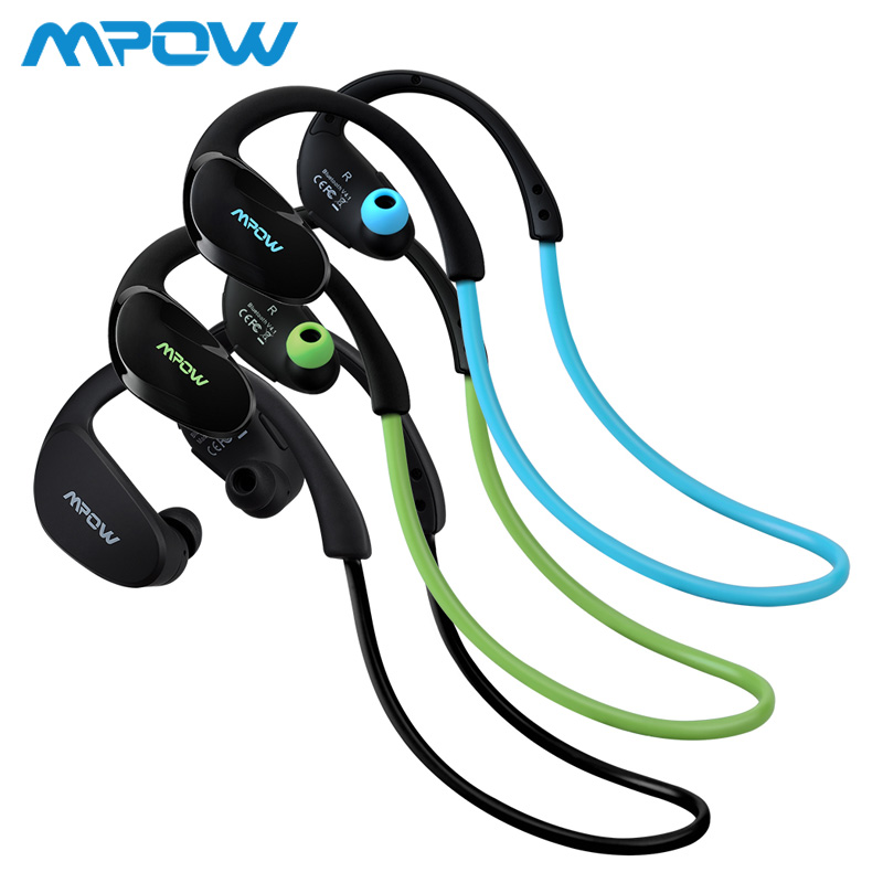 Mpow Cheetah MBH6 2nd Generation Wireless Bluetooth 4.1 Headphones With Mic Hands Free Call AptX Sport Earphone For Smartphones origial mpow h5 2nd generation anc wireless bluetooth headphone wired wireless with mic carrying bag for pc iphone huawei xiaomi