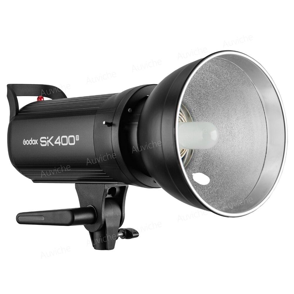 Godox SK400II 400W Photography Studio Flash Strobe Lamp Light Head 2.4G X System 110V 220V for Studio photography godox ds200 200ws compact studio lighting lamp head flash light strobe 110v 220v