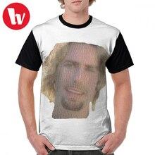 цена на Nickelback T Shirt Nickelback Face Made Of Nickelback Faces T-Shirt Funny Big Graphic Tee Shirt 100 Polyester Short-Sleeve Tshirt