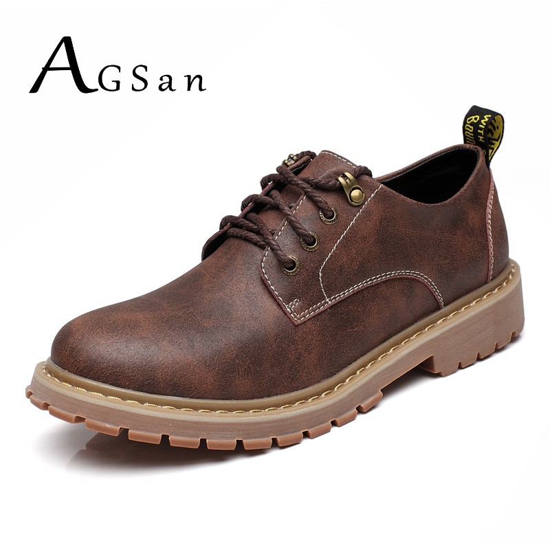 AGSan Work Boots Men Safety Shoes Big Size 37 47 Ankle ...